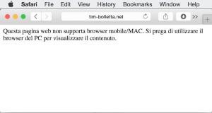 Pagina di phishing Cryptolocker vista da Sistema Operativo Mac OS X