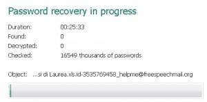 Decryption di Ransomware via Brute Force
