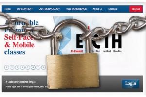 Ransomware Teslacrypt distribuit dal sito EC Council che fornisce certificazioni CEH