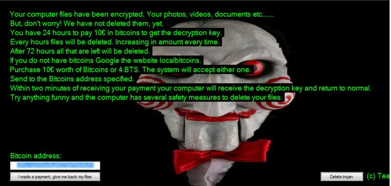 Ransomware Jigsaw