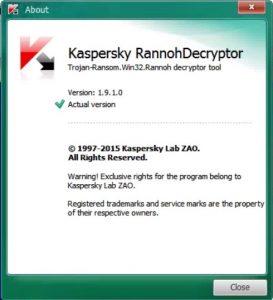 Rannoh Decryptor 1.9.1.0
