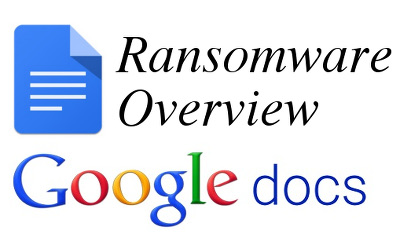Ransomware Overview su Google Docs