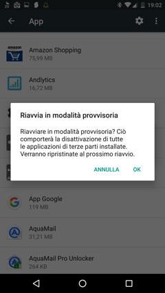 rimuovere app infetta virus polizia penitenziaria dallo smartphone
