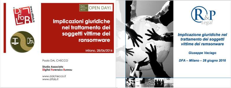 Implicazioni giuridiche del trattamento delle vittime da ransomware