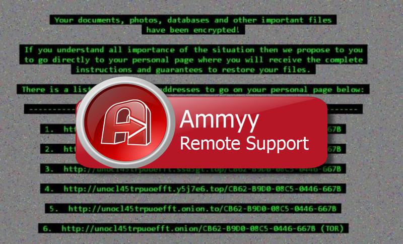 Il sito Ammyy Admin compromesso distribuisce il ransomware Cerber3