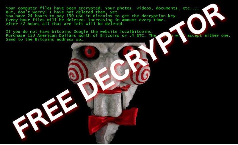 Disponibile per il download il decryptor gratuito del ransomware Jigsaw