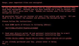 Petia o NotPetya, il ransomware che segue le orme di WannaCry